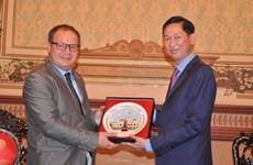 罗马尼亚高度评价越南胡志明市在越罗关系中的作用