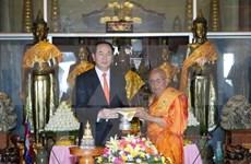 陈大光主席圆满结束对柬埔寨的国事访问