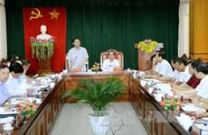 越南政府副总理王廷惠赴宣光省调研