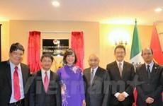 越南驻墨西哥大使馆商务处新办公室正式开张