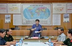 越南政府和人民军总政治局领导人向陈光凯家属致以深切慰问