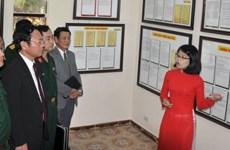 """""""黄沙、长沙归属越南:历史证据和法律依据""""地图资料展在林同省举行"""
