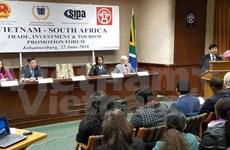 越南与南非促进贸易、投资与旅游的合作
