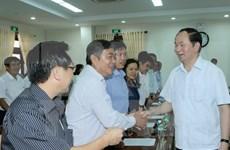 国家主席陈大光:促进富安省迈入南中部沿海地区中等发达省份行列