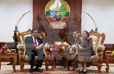 老挝领导人高度评价越老民族事务领域的合作