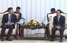 老挝领导人高度评价越老两国共青团在促进两国关系的作用