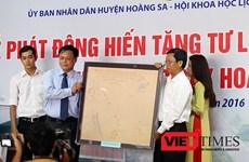 岘港市黄沙展览馆发起文献实物资料捐赠活动
