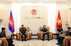 越柬两军加强法制领域的合作