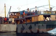 三名印尼船员在马来西亚海域遭绑架