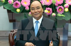 阮春福总理开始对蒙古进行正式访问并出席第十一届亚欧首脑会议