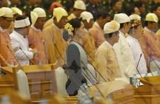 缅甸国家顾问昂山素季会见未签署停火协议的少数民族武装代表