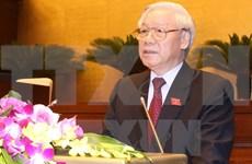 第十四届国会第一次会在河内召开 阮富仲总书记出席并发表重要讲话
