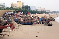清化省岑山市镇力争到2017年成为现代海滨城市