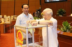 越南第十四届国会第一次会议发表第二号公报