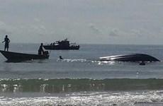 马来西亚发生船只倾覆事件 34人获救8人死亡20人失踪