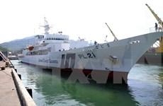 日本海上警卫队训练舰访问越南岘港市