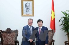 越南政府副总理郑廷勇会见哈佛大学品牌塑造营销专家
