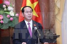 老挝和中国领导人向越南领导人致贺电