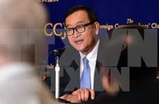 柬埔寨法院对柬埔寨反对党领袖桑兰西诽谤罪名做出判决