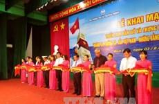 """""""黄沙和长沙归属越南——历史证据和法律依据""""地图资料展在平定省举行"""