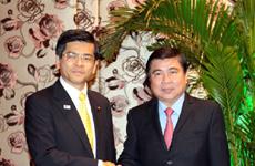 胡志明市希望日本援助促进基础设施建设