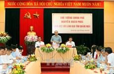 阮春福副总理中部调研:广义省要注重加大对农业经济的投入