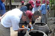 越南各地加强登革热防范工作