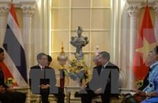 越南政府副总理武德儋对泰国进行正式访问