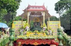 世界和平玉佛恭迎大典在太原省举行