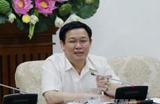 越南政府副总理王廷惠与国会经济委员会举行工作会议