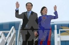 国家主席陈大光访问文莱与新加坡前夕:推动国际关系深入发展