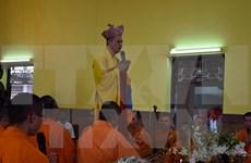 旅泰越侨在曼谷举行盂兰节