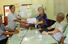 旅法越侨陈素娥起诉美国化工公司案得到广泛的支持