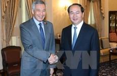 国家主席陈大光访问文莱和新加坡之旅开辟新合作机会