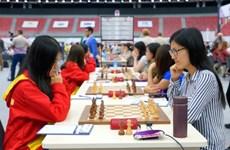 2016年国象奥赛:越南女队战平中国队