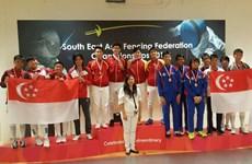 2016年东南亚击剑锦标赛:越南队共获4金