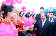 越南政府总理阮春福抵达吴圩国际机场 开始对中国进行正式访问