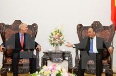阮春福总理会见印度支那资本集团首席执行官彼得·R·莱德