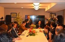 越南外交部旅外越南人国家委员会代表团访问加拿大