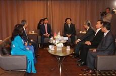 胡志明市呼吁韩国釜山和大邱企业对该市重点项目进行投资
