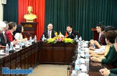 越南与比利时瓦隆大区及法语区联邦合作关系中的新发展方向