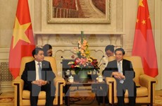 河内与北京发扬友好合作传统