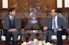 越南国家主席陈大光:扩大越日两国地方间合作