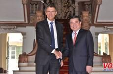法国企业愿意投入胡志明市城市基础设施建设