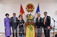 越南驻新喀里多尼亚名誉总领事管正式开馆
