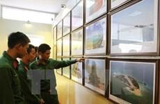 """""""黄沙、长沙归属越南""""资料图片展在昆嵩省举行"""