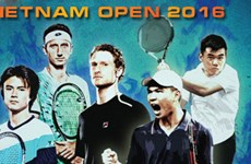 2016年越南网球公开赛正选赛首场比赛正式开打