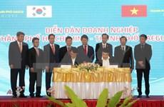 越南胡志明市深化与韩国大邱市的贸易投资合作关系