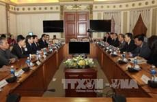 胡志明市一向重视巩固与柬埔寨的合作