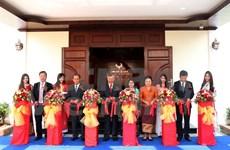 越南驻老挝琅勃拉邦总领事馆新总部正式落成